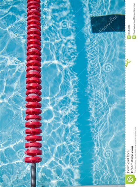 swimming pool  lane rope royalty  stock images