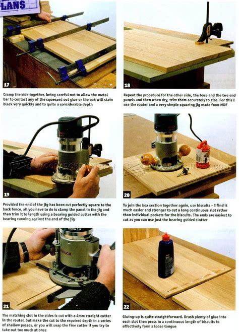 treasure chest plans woodarchivist