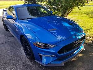 My First Mustang - 2019 Velocity Blue GT Premium w/ PP1 :) I'm in LOVE! : Mustang