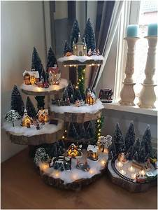 Creative, Christmas, Village, Display, Ideas