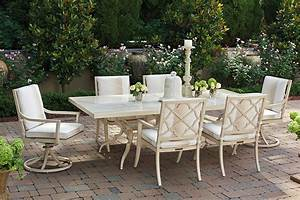 Tommy, Bahama, Outdoor, -, Misty, Garden, Rectangular, Dining, Table, With, Porcelain, Top
