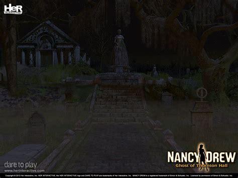 Nancy Drew Ghost Of Thornton Hall Thornton Hall Cemetery
