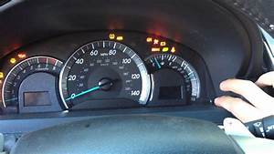 Reset Oil Maintenance Light
