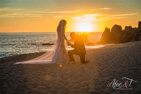sunset time   wedding ceremony  los cabos