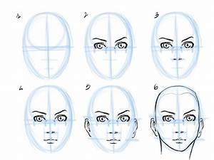 How To Draw Human Face Step By Step