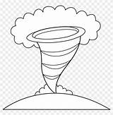 Tornado Hurricane Coloring Pages Clip Pngfind sketch template