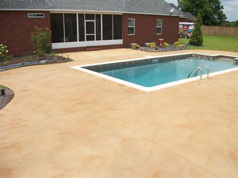 best colors for a cement pool deck search