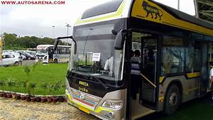 Tata Motors Hybrid Bus at Prawaas 2017