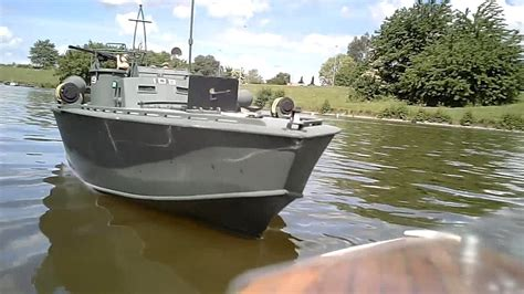Radio Controlled Motor Torpedo Boats by Midwest Pt 109 Elco 80 Class Scale Rc Torpedo Boat