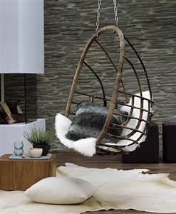 Fauteuil Suspendu Exterieur : sillas colgantes una tendencia con mucho glamour ~ Dode.kayakingforconservation.com Idées de Décoration