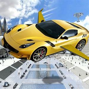 Real Flying Car Jet Futuristic Racing Moto App For