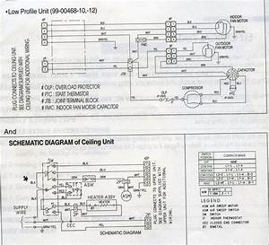 Carrier Low Profile A  C Wiring Diagram