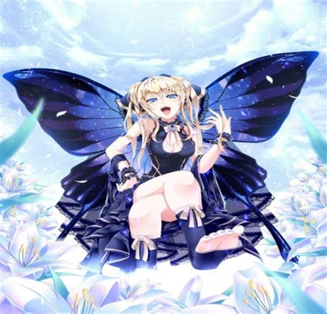 Anime Butterfly Wallpaper - blue butterfly other anime background wallpapers on