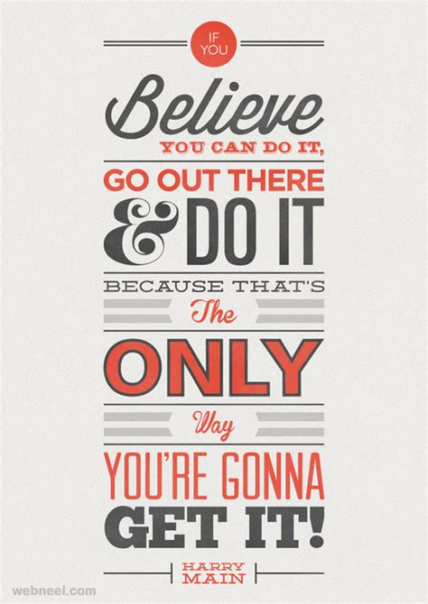 30 best motivational quotes and typography design inspiration