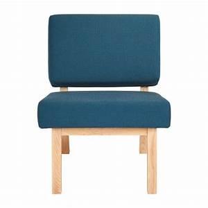 Fauteuil Bleu Turquoise : ippon ii fauteuil bleu turquoise habitat ~ Teatrodelosmanantiales.com Idées de Décoration