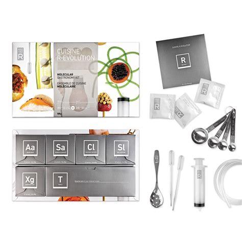 cadeau cuisine livre de cuisine moléculaire idée cadeau