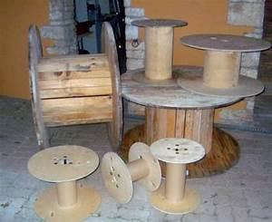 Meuble A Faire Soi Meme Recup : touret en bois d cor table basse le serviettage de ~ Zukunftsfamilie.com Idées de Décoration