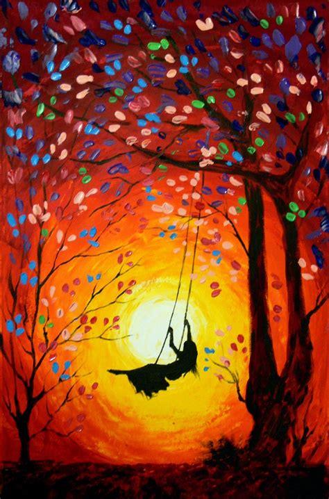 acrylic abstract painting fun
