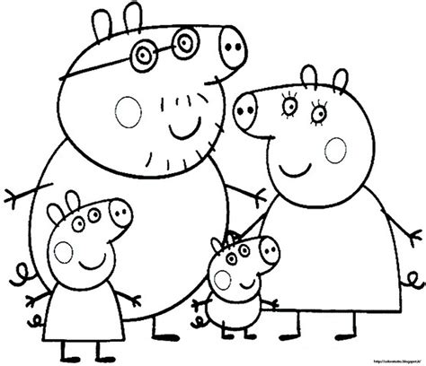 peppa pig coloring pages coloring pages gallery