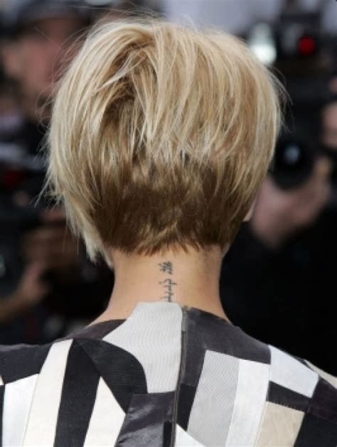 short bob hairstyle back view hairstyle for women man