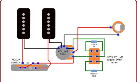 3 P90 Wiring Diagram by The Guitar Wiring Diagrams And Tips Wiring For P90