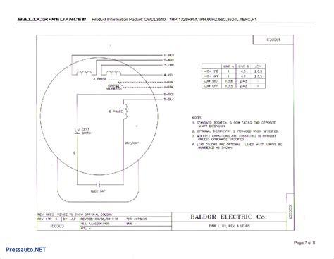Baldor Single Phase Capacitor Motor Wiring Diagram by Baldor L1410t Wiring Diagram Sle