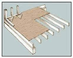 how to frame a floor how to build a raised wood floor 9 steps ehow