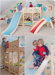kids bed design nice ladder slide fun beds for kids With unique bunk beds to for your happier kids