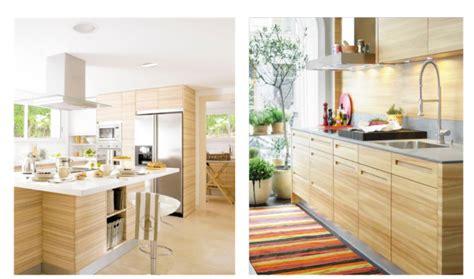 cocinas de madera clara  natural light natural wooden