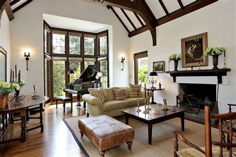 inspiration tudor living room house plans