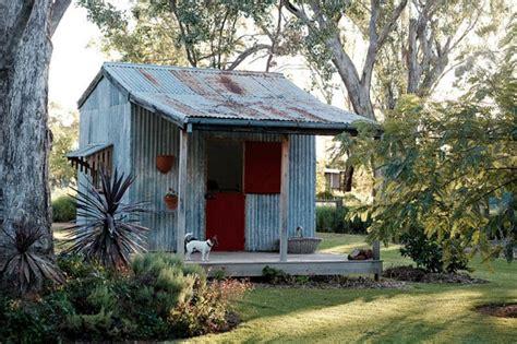 rustic potting shed  popsugar home