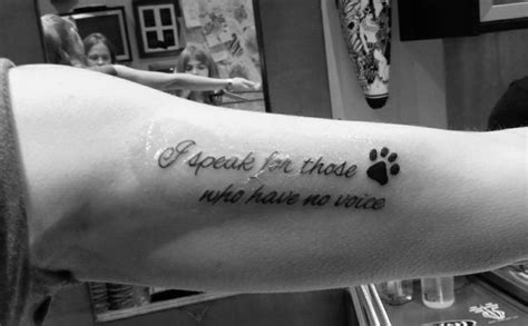 animal lover tattoo quotes image quotes  hippoquotescom