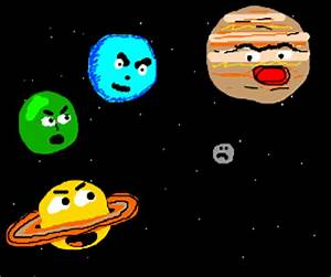 Bullying Other All the Planets Pluto - Pics about space