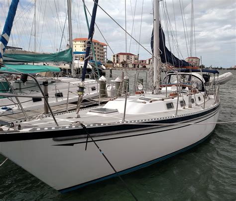 Boat Fuel Prices Vancouver by 1986 Tayana Vancouver 42 Sail Boat For Sale Www