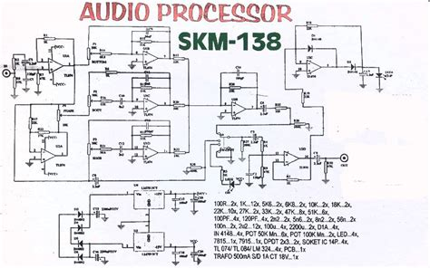 Audio Processor Circuit Electronics Teknologi