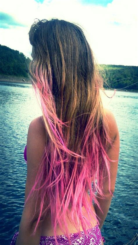 1000 Ideas About Dip Dyed Hair On Pinterest Dip Dye