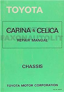 1981 Toyota Celica Supra Electrical Wiring Diagram Original