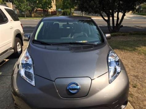 Fully Electric Cars For Sale by 2016 Nissan Leaf Sl Fully Loaded Electric Cars For Sale