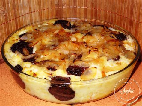 ancienne recette de cuisine gratin au boudin noir la tendresse en cuisine