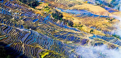 yuanyang rice terraces bada rice terraces yuanyang rice terraces for sunset