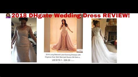 dhgatecom wedding dress review  wedding
