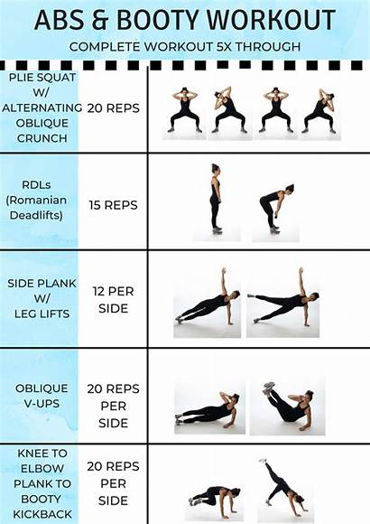 Abs Booty Workout Workouts Gym Carter Fitness