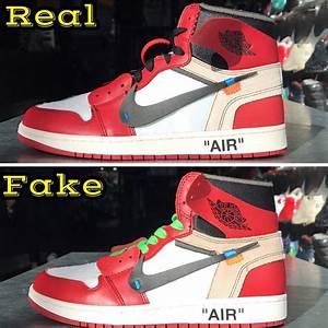 OFF WHITE x JOR... Fake