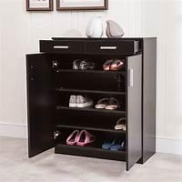 shoe organizer cabinet 5 Shelf Shoe Rack 2 Drawers Entryway Stand Organizer Storage Cabinet 699980494772 | eBay