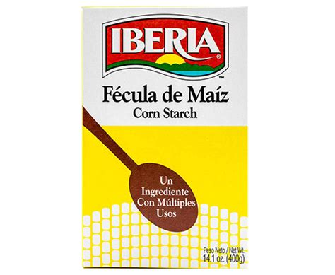 Corn starch products directory and corn starch products catalog. Iberia-ProductsCorn-starch