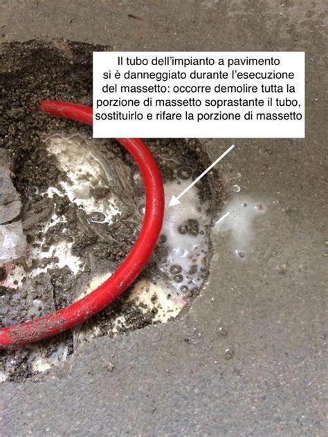 Tubo Per Riscaldamento A Pavimento by Il Massetto Su Impianto Di Riscaldamento A Pavimento O