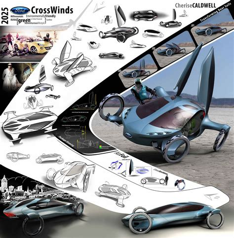 ford crosswinds concept  cherise caldwell posters
