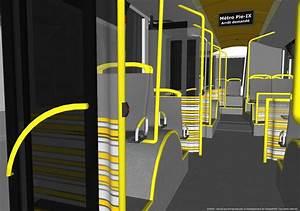 Int U00e9rieur D U0026 39 Un Autobus  Accessible  Hauteur Des Boutons D