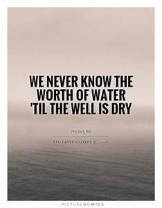 I don't wan... Water Environment Quotes