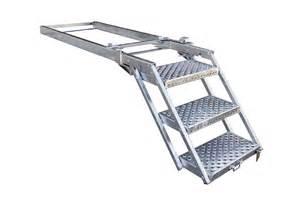 Escalier De Chantier Pliable marche pieds m 233 tallique pour camion et poids lourds